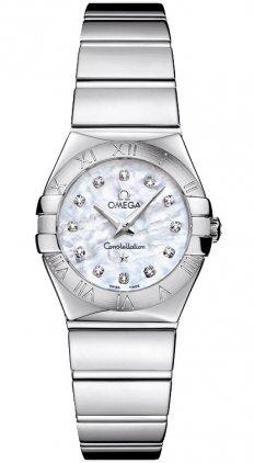 Omega Constellation Ladies Mini Watch 123.10.24.60.55.002 [Watch] Constellation