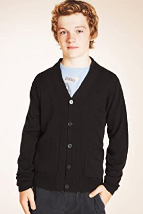Boys' Limited Cashmilon™ V-neck Cardigan