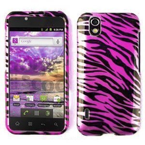 Amazon.com: For Straight Talk LG L85c Optimus Accessory -Pink Zebra