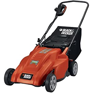 Black &amp; Decker MM1800 18-Inch 12 amp Corded Electric Lawn Mower