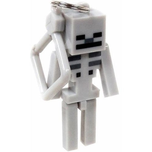 Official Minecraft Exclusive SKELETON Toy Action Figure Hanger