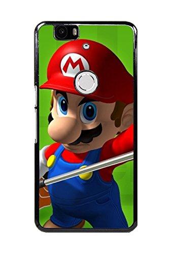 Game Mario Golf: Toadstool Tour Hard Back Case Cover Skin For Huawei Nexus 6P/Google Nexus 6P Design By [Cheryl (Toadstool From Mario)