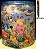 Disney Parks Mickey & Pals Popcorn Sampler Tin 18 oz (Caramel, Confetti & Chocolate Caramel) - To ensure fresh product orders are fulfilled as received and subject to availability after order is placed - Disney Parks Exclusive & Limited Availability