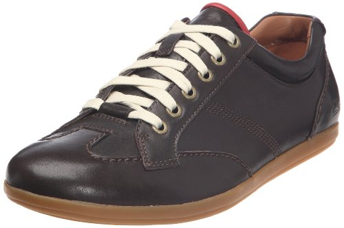 Clarks Mask Pace Lace-Ups Mens Brown Braun (Ebony Leather) Size: 6 (40 EU)
