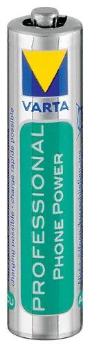 Varta Lot de 2 piles rechargeables Ni-Mh Micro 1,2 V/800 mAh