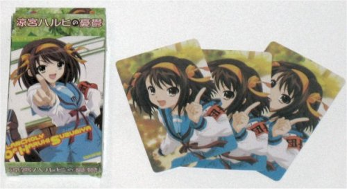 The Melancholy of Haruhi Playing Cards Poker Deck CM20634