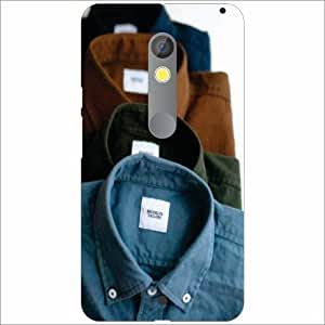 Moto X Play Back Cover - Clothes Designer Cases