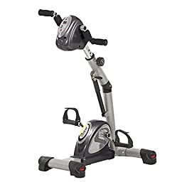 HCI Fitness eTrainer Passive Assist Motorized Trainer, Grey