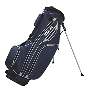 Wilson Sporting Goods Lite Carry Golf Bag, Navy