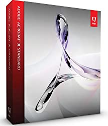 Adobe Acrobat X Standard