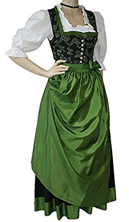 34 50 dirndl trachten kleid trachtenkleid festtracht. Black Bedroom Furniture Sets. Home Design Ideas
