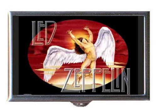 Led Zeppelin Swan Song Image Guitar Pick Or Pill Box Usa Made