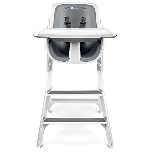Cheap 4Moms High Chair, White/Grey