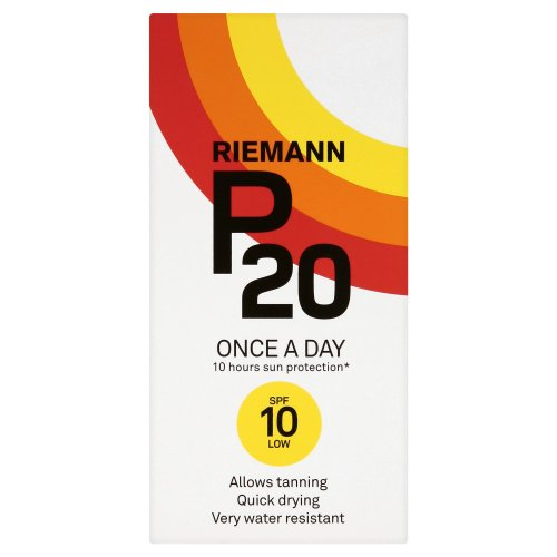 Riemann P20 Once  A  Day 10 hours Protection SPF10 Low  200 ml