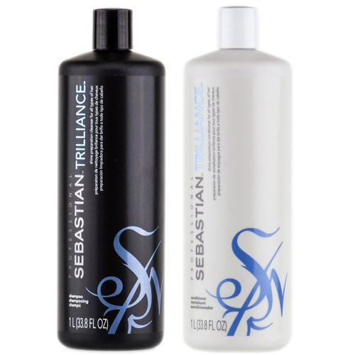 Sebastian Trilliance Shampoo 1000ml + Conditioner 1000ml DUO SET