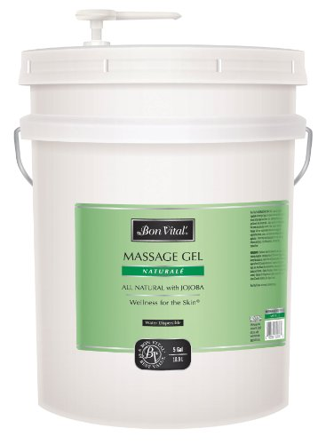 Bon Vital Naturale Massage Gel, 5 Gallon Pail