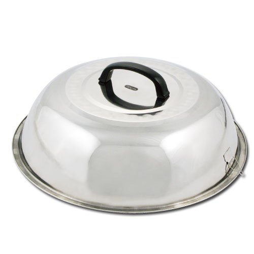 Winco WKCS-14 Stainless Steel Wok Cover, 13-3/4-Inch