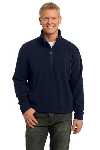 port-authority-mens-value-fleece-1-4-zip-pullover-xl-true-navy