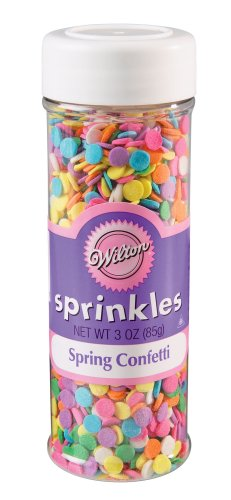 Wilton Spring Confetti sugar-sprinklers - 3oz
