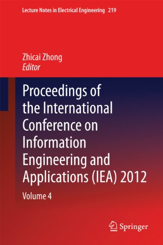 Proceedings Of The International Conference On Information Engineering And Applications (Iea) 2012: 219 (Lecture Notes In Electrical Engineering)