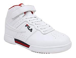 Fila Men's F13 Super Lite Lace Up White Sneakers 10 M