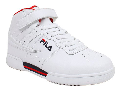 Fila Men's F-13 SL Sneaker (9 D(M) US, White / Chinese Red / Peacoat)