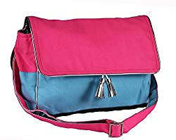 Harp Color Block Fushia Cross Body (Pink)