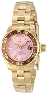 Invicta Women's 12526 Pro-Diver Pink Dial Watch