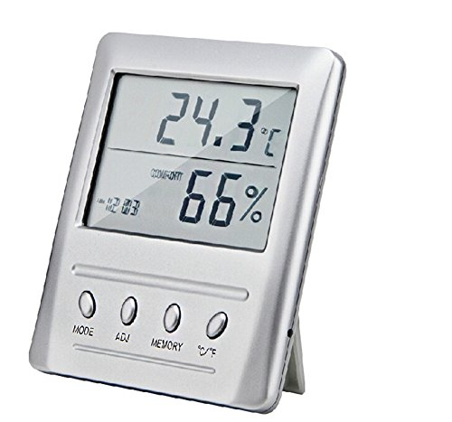 Lcd Digital Thermometer Hygrometer Temperature Humidity Electronic High Precision Thermometer