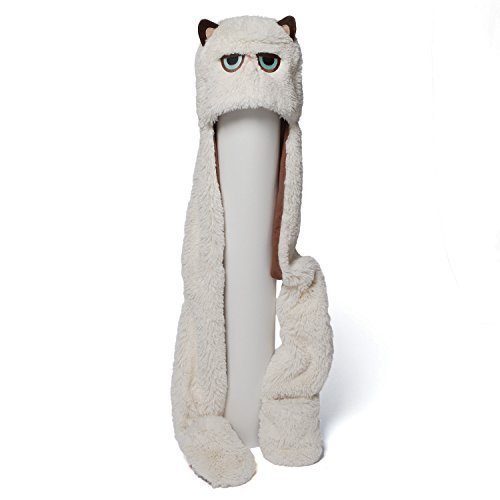 Gund 4048616 Grumpy Cat Scarf Hat Plush by Rejects from Studios
