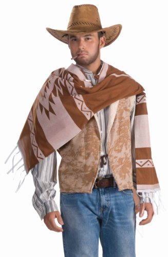 Forum Men's Lonesome Cowboy Costume, Tan, One Size by The Lone Ranger (Lonesome Cowboy Costume)