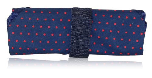BlueAvocado-XO(ECO) Reusable Sandwich Wrap, Red Microdot - 1