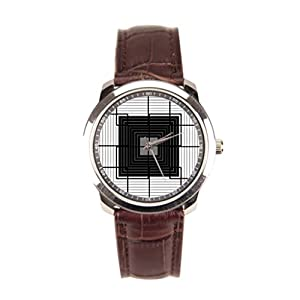 Dr. Koo Design Brown Leather Watches Leather Leather Strap Watches For Men