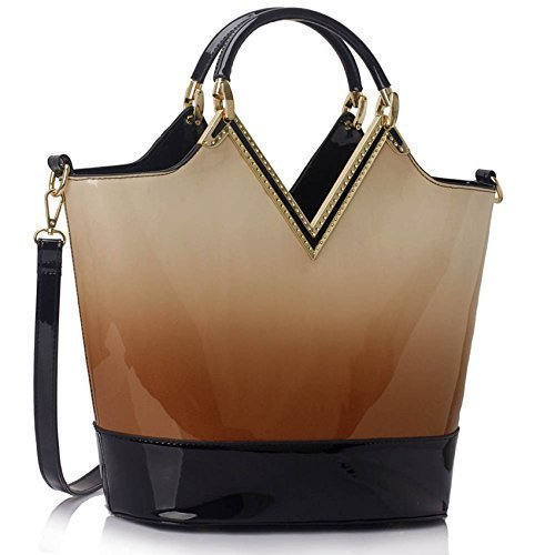 Ladies Handbags Womens Large Bags Shoulder Patent Leather Designer style