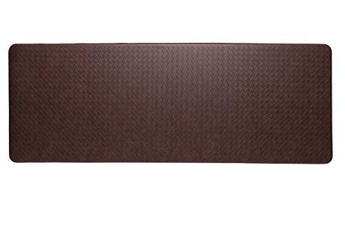 Imprint Anti Fatigue Nantucket Series 26-Inch By 72-Inch Comfort Mat, Cinnamon