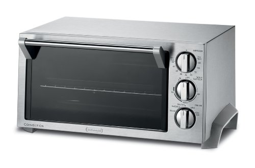 DeLonghi EO1270 6-Slice Convection Toaster Oven, Stainless Steel (Delonghi Small Oven compare prices)