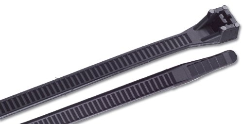 Gardner Bender 45-524Uvb 24-Inch Ultraviolet Black Heavy Duty Cable Ties, 10-Pack