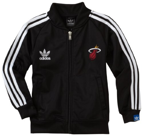 Nba Toddler Miami Heat Legacy Track Jacket - R249Dnhe (Black, 3T) back-1018292