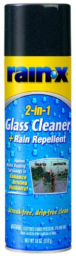 6 Pack Rain-X 5080233 2-in-1 Foaming Glass Cleaner with Rain Repellent - 18 oz (Rain X 2 In 1 compare prices)