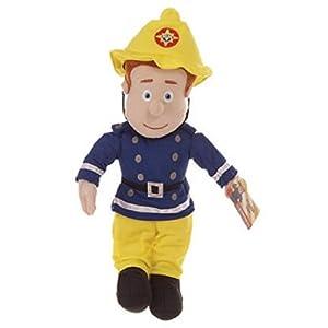 Peluche Sam le Pompier 40 cm