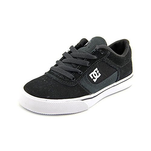 DC Cole Pro Skate Shoe (Toddler/Little Kid/Big Kid),Black/White,11 M US Little Kid