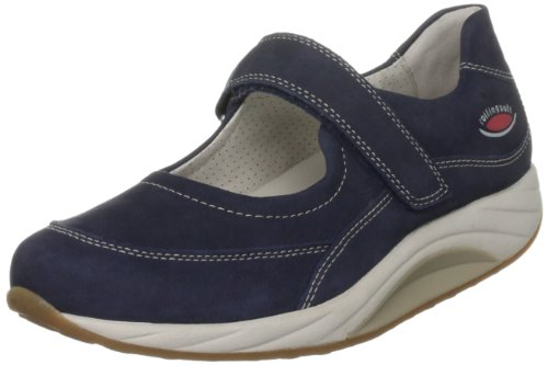 Gabor Women's Elegant Nubuck Blue Naht Beige Mary Jane 46.980.46 7 UK