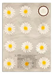 Martha Stewart Crafts 3 Dimensional Stickers Daisy White/Yellow By The Package
