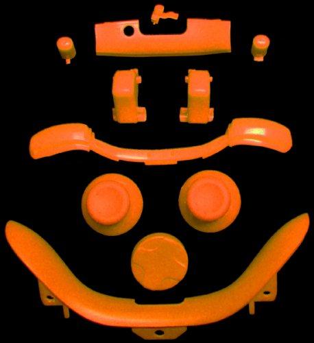 Xbox 360 Complete Orange Kit Thumbsticks D-Pad Sync Lb/Rb Bumper Lt/Rt Trigger