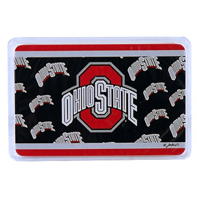 NCAA Ohio State Buckeyes Crystal Box Playing Cards - 1