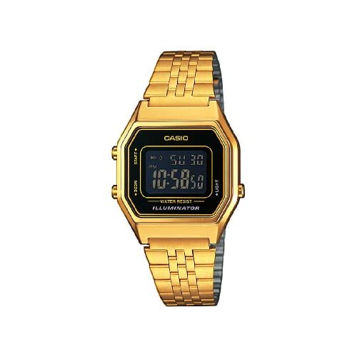 Casio  LA680WEGA-1BER Unisex Bracelet Digital Watch