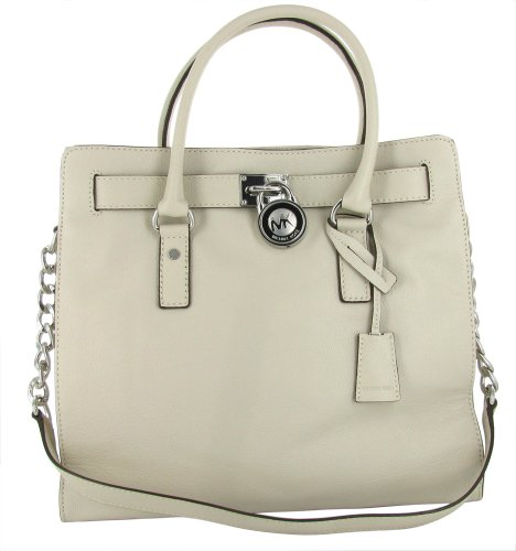 MICHAEL KORS Hamilton Large Leather Satchel Womens Purse