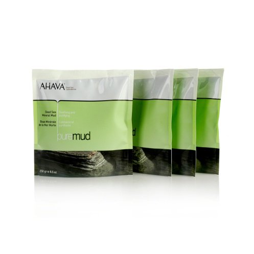 AHAVA Dead Sea Mineral Mud  4 x 8.5 oz