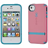 Speck Products Candy Shell Flip Case for iPhone 4/4S-1-Pack-Carrying Case, Bubblegum/Peacock