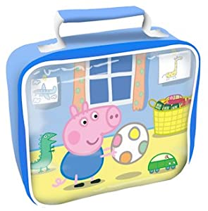 Peppa Pig George Rectangle Lunchbag Lunch box: Amazon.co.uk: Baby